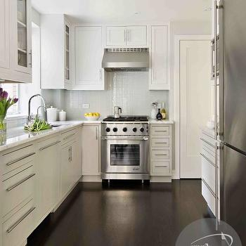 White Kitchen Light Floors white kitchen cabinets dark wood floors design ideas