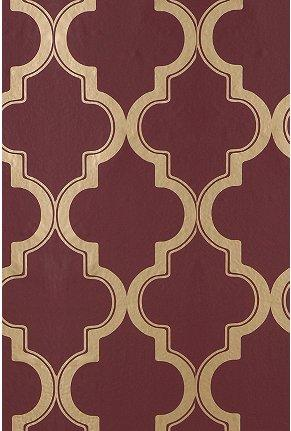 UrbanOutfitters.com > Marrakesh Wallpaper, Maroon