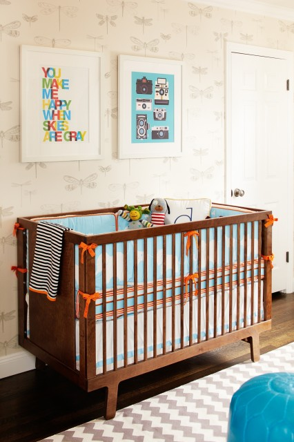 Boy Nursery Contemporary Nursery Niche Interiors