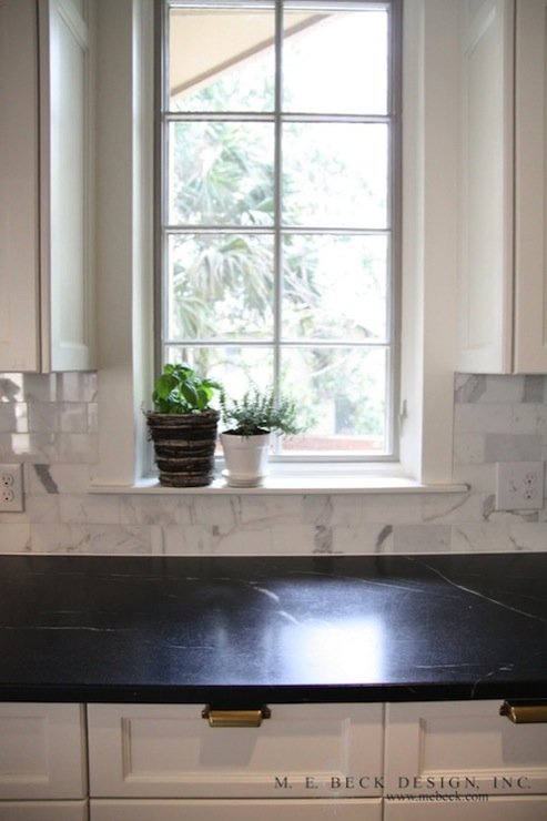 White Soapstone Countertops : Soapstone countertops traditional kitchen m e beck