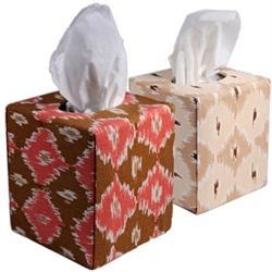 Designer Fabric Tissue Box Cover