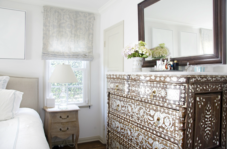 Bone Inlaid Chest Transitional Bedroom Titan And Co