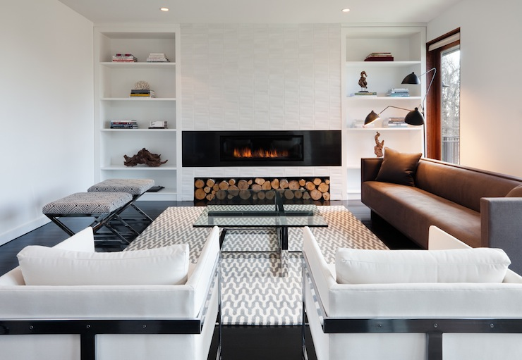 Superb Modern Fireplace Contemporary Living Room Haus Interior Largest Home Design Picture Inspirations Pitcheantrous