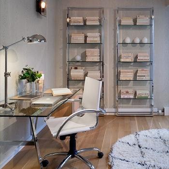 Saw Horse Desk, Contemporary, den/library/office, Haus Interior