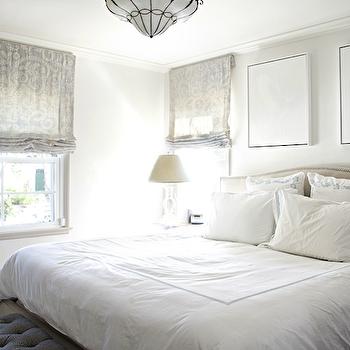 silver bedding - contemporary - bedroom - house & home