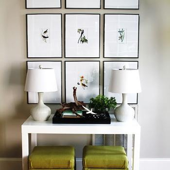 Parsons Console Table Transitional Living Room Sally Steponkus - West elm parsons console table