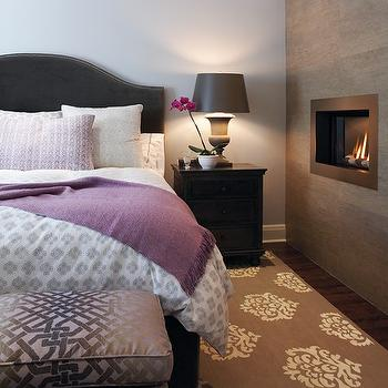 Bedroom Fireplace, Contemporary, bedroom, House & Home