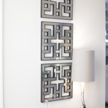 Silver Branch Lamp, Contemporary, entrance/foyer, Heather Garrett Design