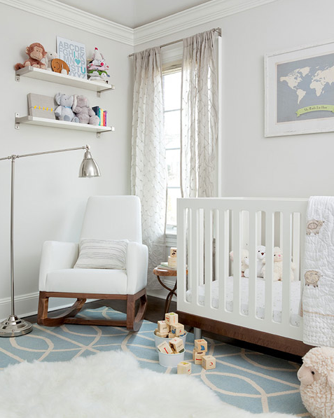 Boy Nursery Contemporary Nursery The Elegant Abode