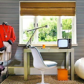 Striped Boy's Room, Contemporary, boy's room, Martha Angus