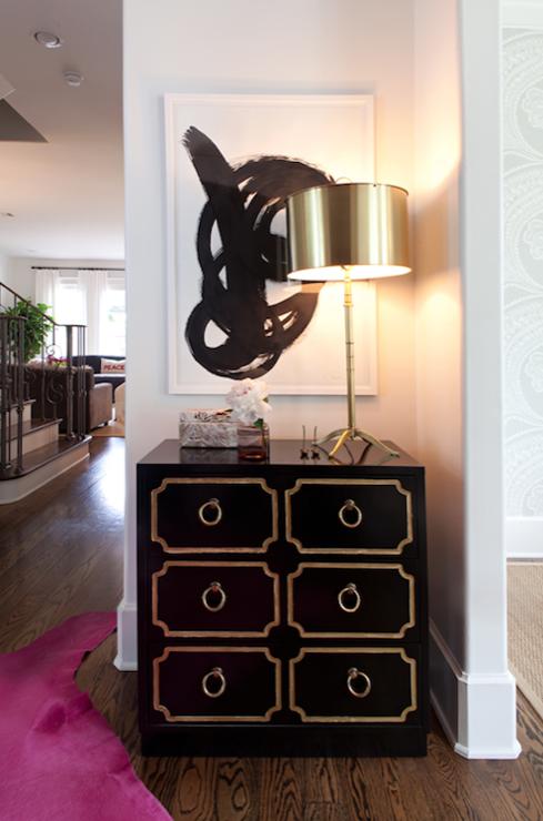 mint green dorothy draper chest transitional entrance foyer. Black Bedroom Furniture Sets. Home Design Ideas
