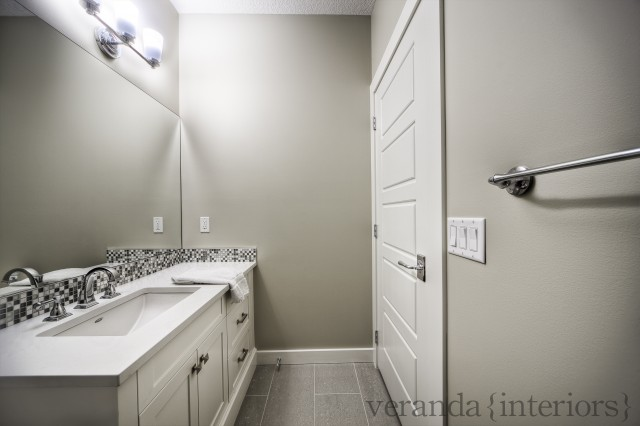 gray bathroom with gray walls paint color extra long single bathroom