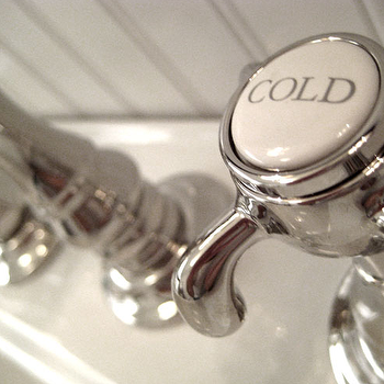 Vintage Hot And Cold Faucet
