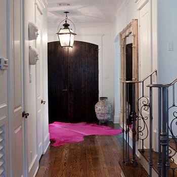 cowhide rug decorating ideas. Pink Cowhide Rug Design Ideas