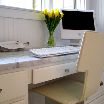 Built In Desk, Transitional, kitchen, Summer Thornton Design