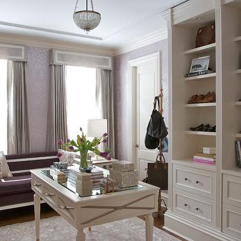 Closet Curtains, Contemporary, closet, Summer Thornton Design
