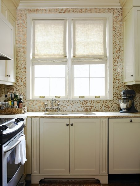 Oceanside Tile Tessera Transitional Kitchen Lauren