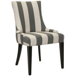 Becca Grey Dining Chair | Overstock.com