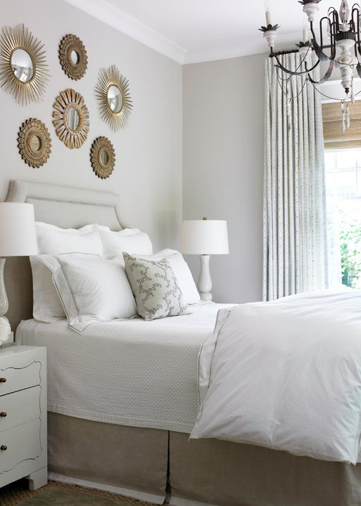 Sunburst Wall Decor - Transitional - bedroom - Courtney ...
