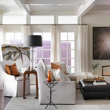 Branch Accent Table, Transitional, living room, Courtney Giles Interiors