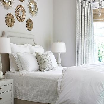 Sunburst Wall Decor, Transitional, bedroom, Courtney Giles Interiors