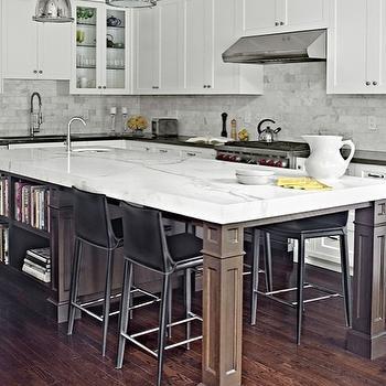 Long KItchen Island, Contemporary, kitchen, Palmerston Design