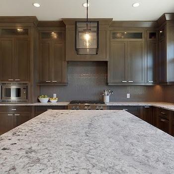 Bianco Argento Granite, Contemporary, kitchen, Veranda Interiors