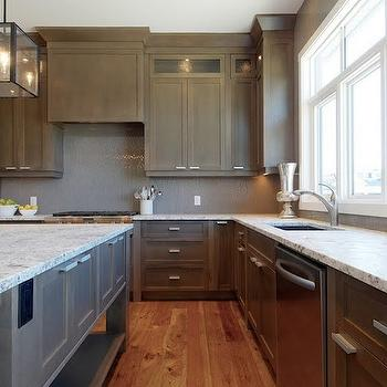 Bianco Argento Granite, Transitional, kitchen, Veranda Interiors