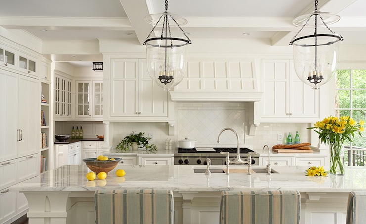 Off White Kitchen Cabinets Cottage Kitchen Susan