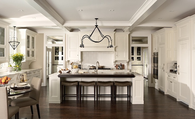 Off White Kitchen Cupboards off white kitchen cabinets - cottage - kitchen - susan gilmore