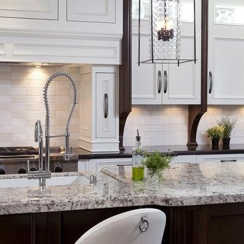 White Granite Kitchen Countertops Design Ideas