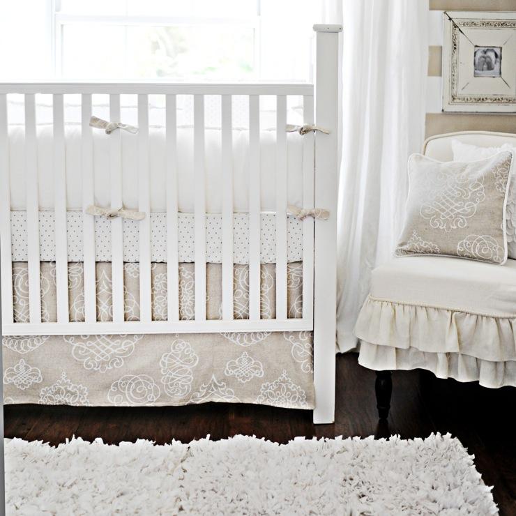 Pebble Moon Baby Bedding