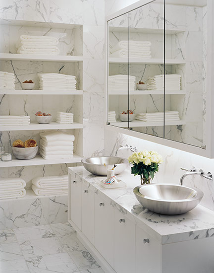marble bathroom shelf eggshell home master bathroom update master bathroom  marble niche glass shelves bath decor
