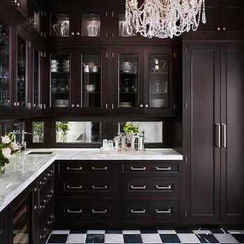 Mirror Backsplash, Traditional, kitchen, de Giulio Kitchen Design