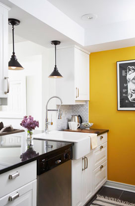 Pass Through Contemporary Kitchen Montana Burnett Design
