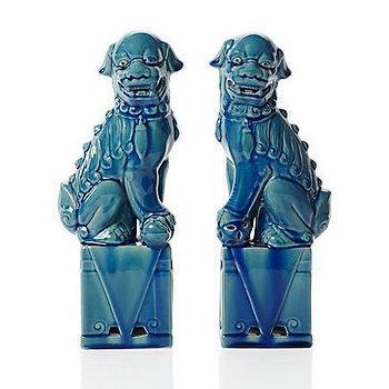 Z Gallerie, Ceramic Foo Dogs