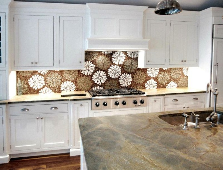 Mosaic Kitchen Backsplash Eclectic Kitchen Artsaics