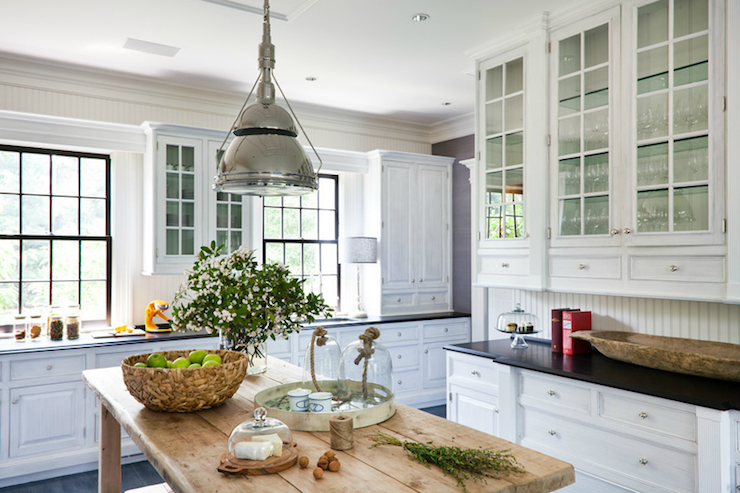 Rustic White Kitchens Design Ideas