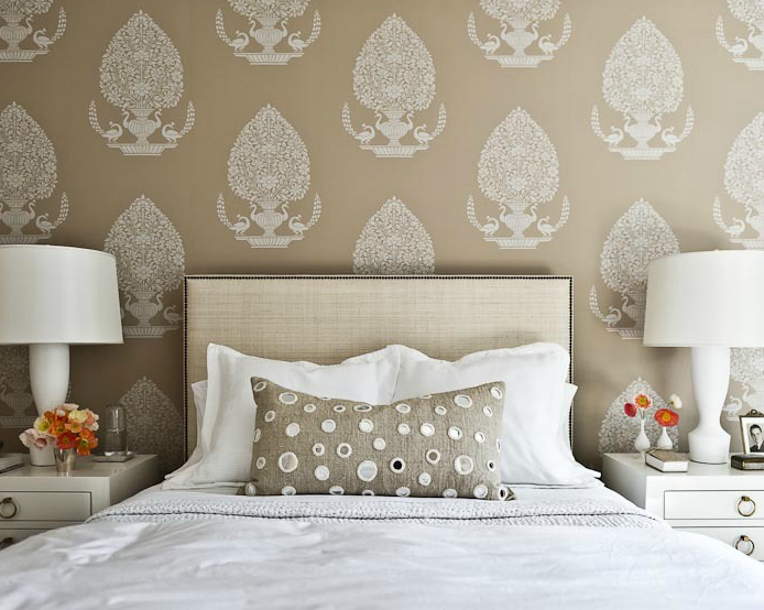 West Elm Nailhead Upholstered Headboard - Transitional ...