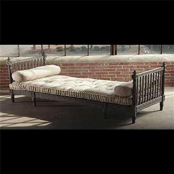Z Gallerie Pradesh Day Bed Whitewash