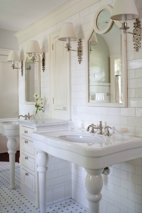 Alexa Hampton Ginger Single Sconce Traditional Bathroom Colorado Homes Amp Lifestyles