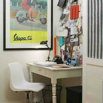 Farmhouse Desk, Eclectic, den/library/office, Margot Austin