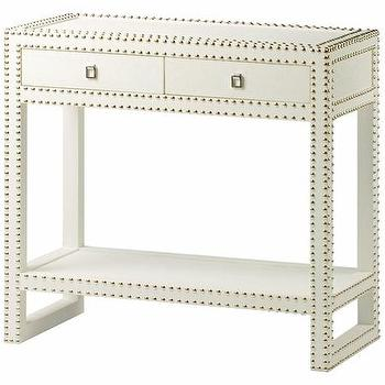 Marco Console in White or Black