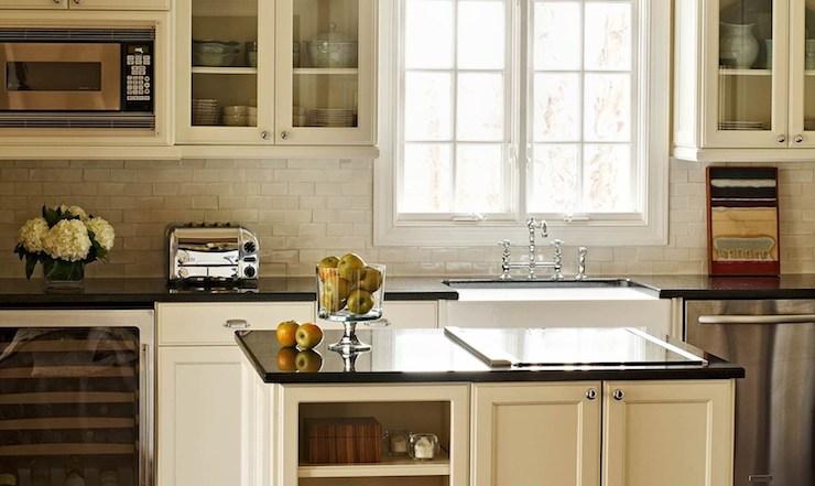 Crackled Subway Tiles, Transitional, kitchen, Traci Zeller Designs