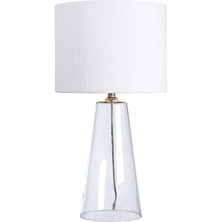 Attirant Overstock Holman 29 Inch Clear Glass Table Lamp View Full Size