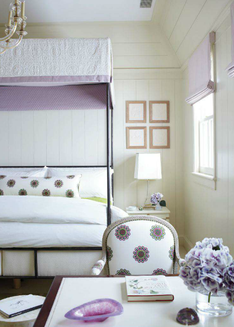 Iron Canopy Bed Transitional Bedroom Phoebe Howard
