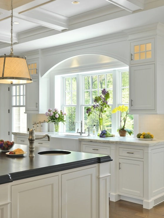 Island Prep Sink Traditional Kitchen Jan Gleysteen Architects