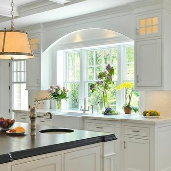 Island Prep Sink, Traditional, kitchen, Jan Gleysteen Architects
