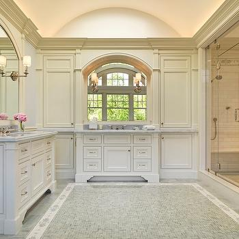 floor to ceiling bathroom cabinets design ideas