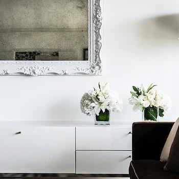 Floating Media Cabinet Design Ideas